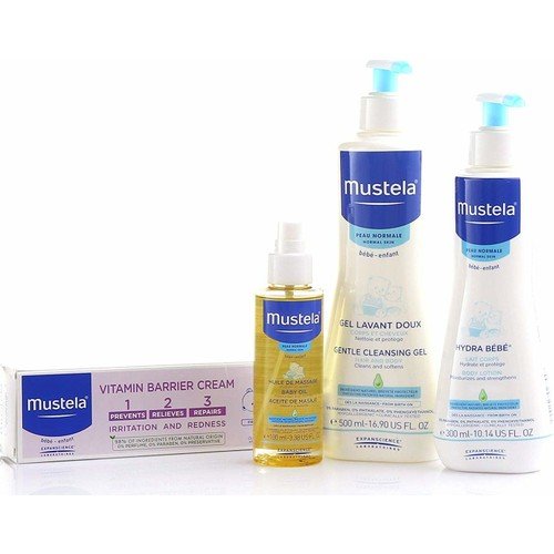 Mustela baby bag, Care set, 2021 new, mother-baby, care lotion,baby girl-boy, cream, shampoo, new Made In Germany