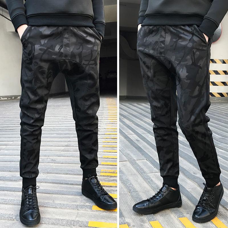 Брюки мужские камуфляжные, на осень и зиму, 2020