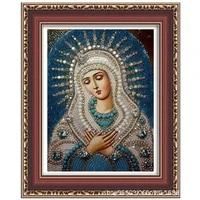 diamond painting 5d diy kits virgin mary religion rhinestones cross stitch art picture gift home wall decor