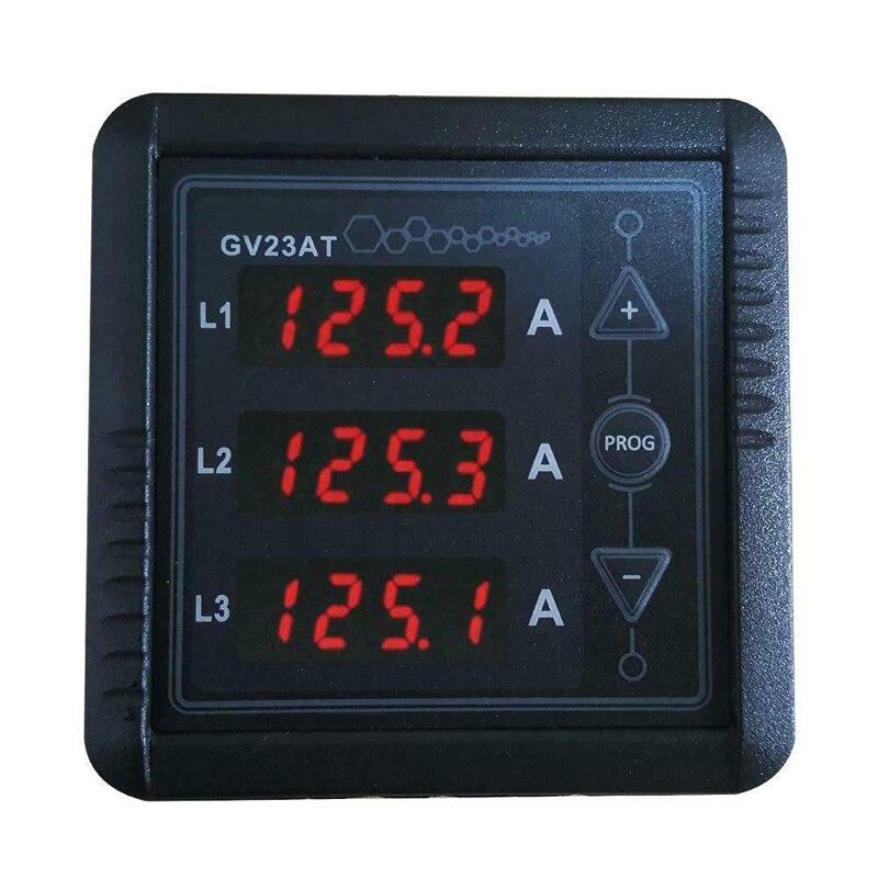 GV23AT three-phase AC digital display ammeter Current Meter  diesel generator set controller instrument