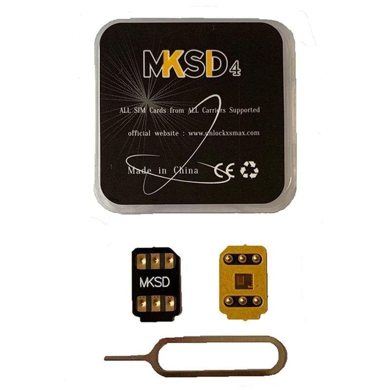 MKSD RSIM heicard turbo unlock sim iPhone Unlocking card for 6s/6sp/7/7p/8/8p/x/XS /XR/MAX/11/ 11p /12pro