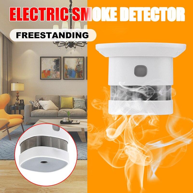 Alarma Detector de humo con batería integrada de 10 años Detector de alarma de incendio 80dB KQS8