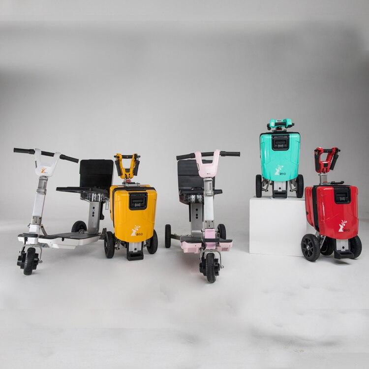 Pode levar em scooter elétrico da mobilidade dos aviões com bateria de lítio 48v 250w pode carregar 330lbs
