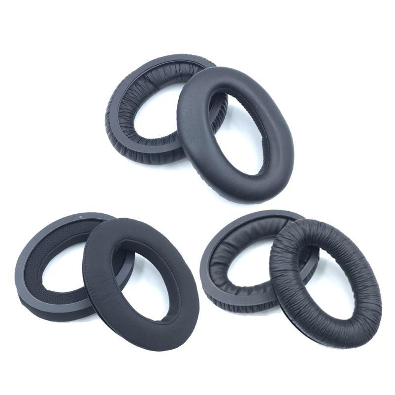 1 par espuma almofadas de ouvido capa almofada para sennheiser g4me zero hd515 hd518 hd555 hd558 hd595 pxc350 fone de ouvido