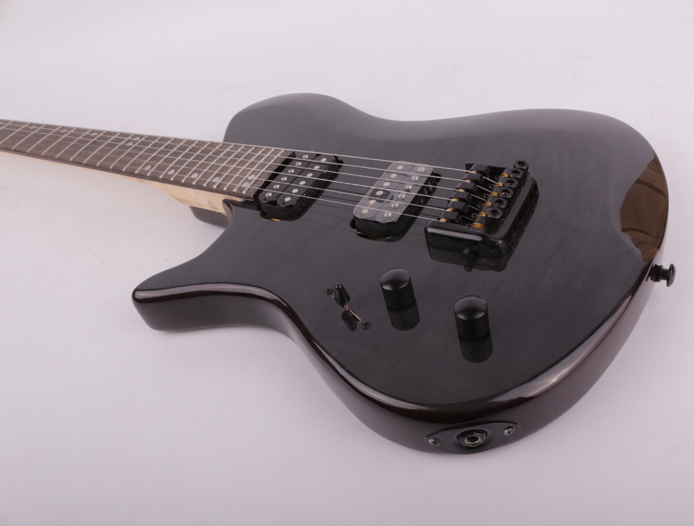 left lefty headless electric guitar free shipping portable enlarge