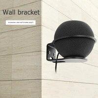 Support mural en metal pour Apple HomePod Mini haut-parleur intelligent  support mural en alliage daluminium  support detagere avec vis