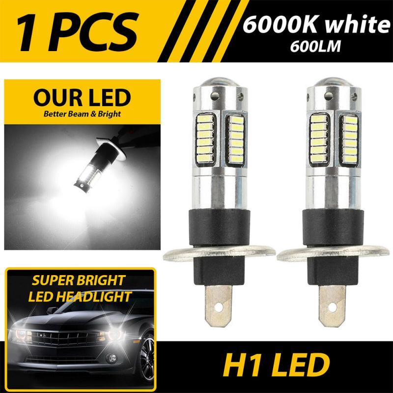 CAR H1 LED Car Light Projector Fog Light Bulbs Kit Car Headlight Bulbs 6000k Car Accessories Lights Lighting Led Fog Light