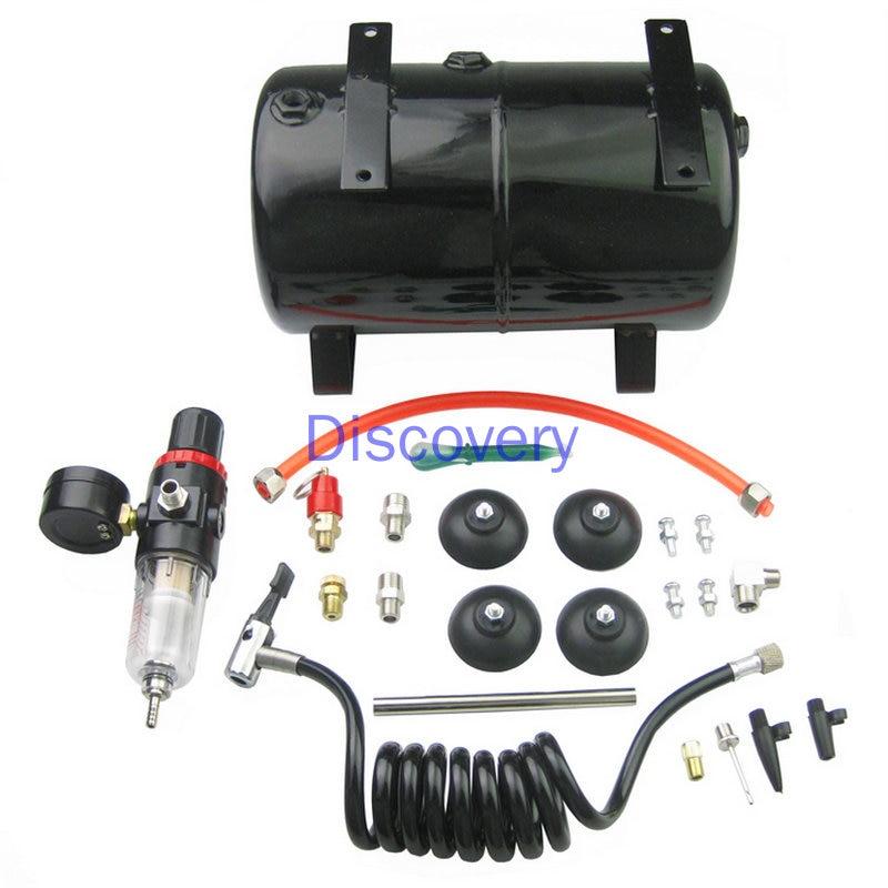 Воздушный насос AS18B AS186, емкость для хранения воздуха, воздушный компрессор, распылительный насос 3,5 л, 4 отверстия
