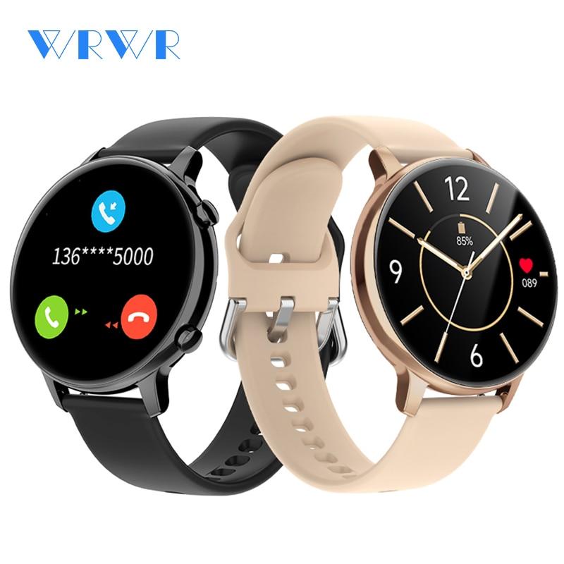 2021 NEW WRWR Smart Watch Make Call Smartwatch MP3 Music Men Women Waterproof Wristwatch For Android