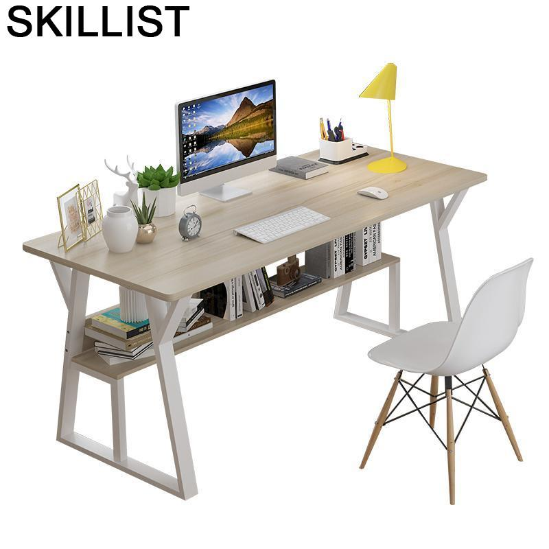 Tavolo-Mesa de Escritorio para ordenador portátil, Mesa de mesita de noche, Escritorio...