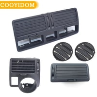 set 5pc car air conditioning vent ac front dash center console air vent outlet for volkswagen bora jetta golf mk4 1j1819710b