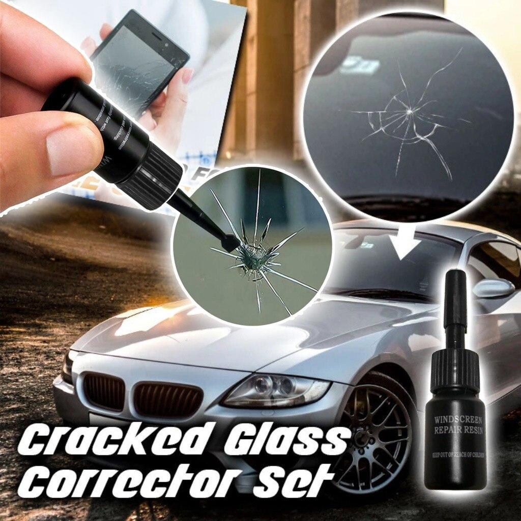 Car Cleaning Automotive Glas Nano Reparatie Vloeistof Auto Vensterglas Crack Chip Reparatie Tool Полироль Для Авто