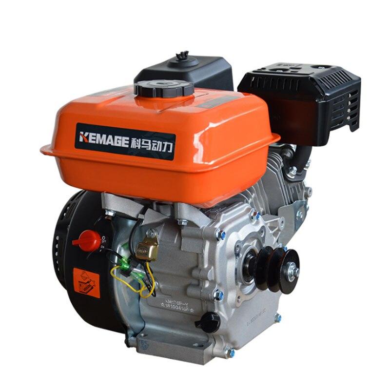 محرك 170F محرك البنزين الصغيرة 190F محرك البنزين أربعة السكتة الدماغية اسطوانة واحدة البحرية عالية حصانا بداية الكهربائية