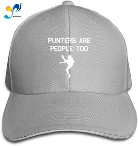 Football Punters are People Too Mens Girl's Classical Hat Fashionable Peak Cap Cap