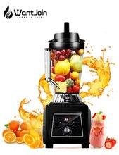 WantJoin Commercial blender High Speed Professional Blender for Ice Smoothie Super volume 3500ML Countertop Blender for Shake CE