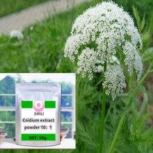 Cnidium Monnieri Extract 98% Osthole powder 1pc Nutrition festival suplement body glitter do leczenia upadających nerek torba kobieta