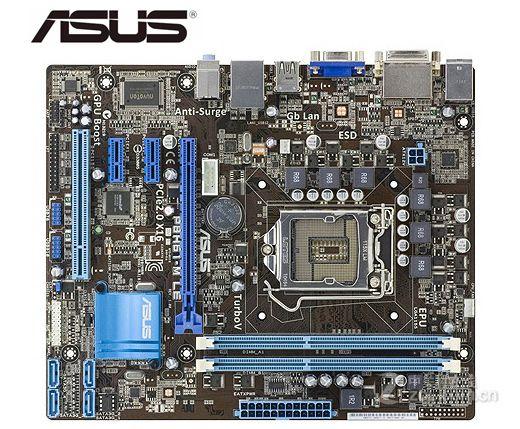 Placa base de escritorio para ASUS P8H61-M LE, Socket LGA 1155 DDR3...