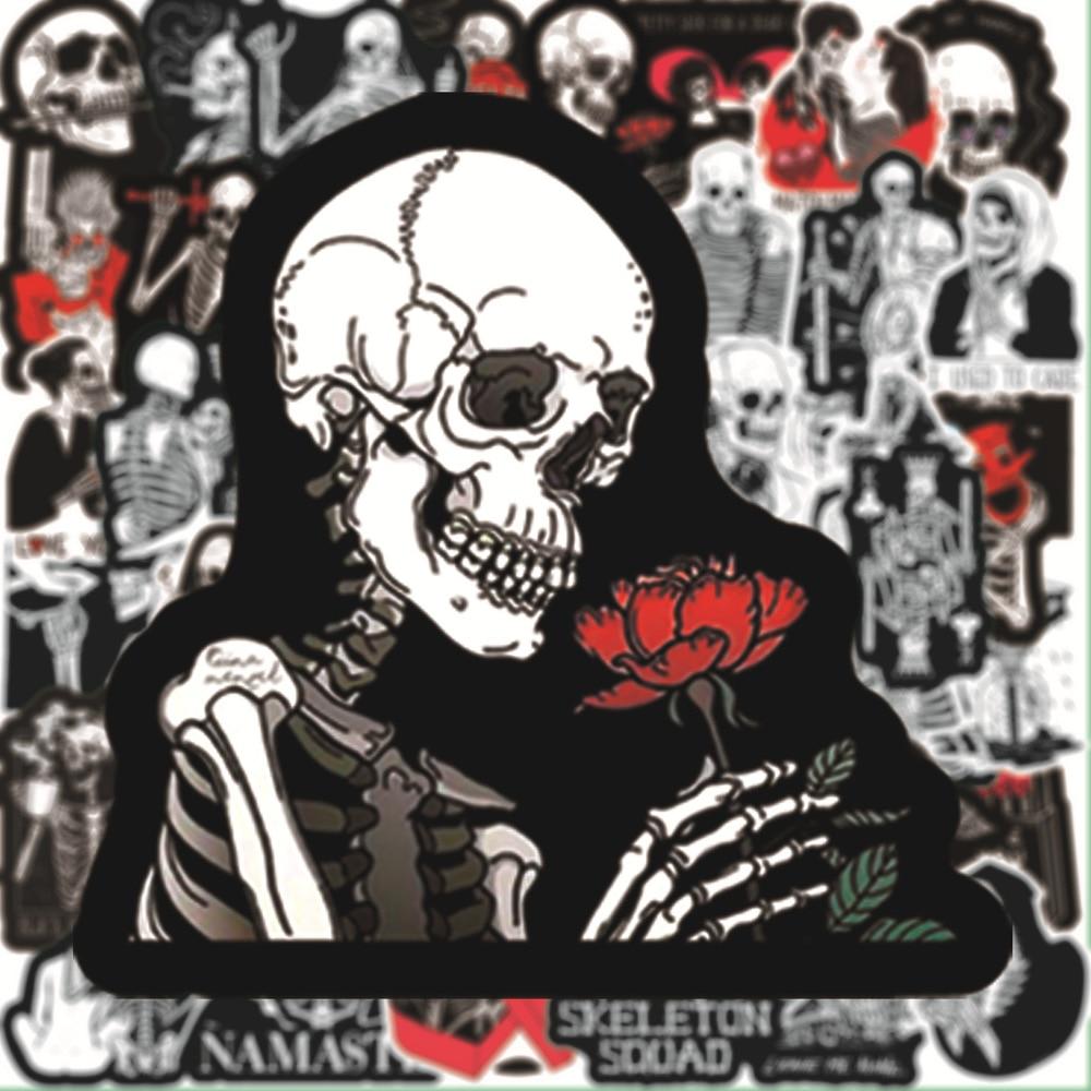 calaveras-rojas-y-negras-pegatina-inspiradora-de-amor-para-monopatin-portatil-equipaje-estilo-anime-pegatina-de-graffiti-maleta-10-50-uds