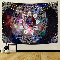 wall hanging mandala tapestry home decor wall tapestries psychedelic hippie night moon tapestry wall hanging carpet