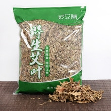 500g Moxa Leaf Dried Wormwood Leaves Folium Artemisiae Argyi Mugwort Herbs Foot Bath Free Shipping