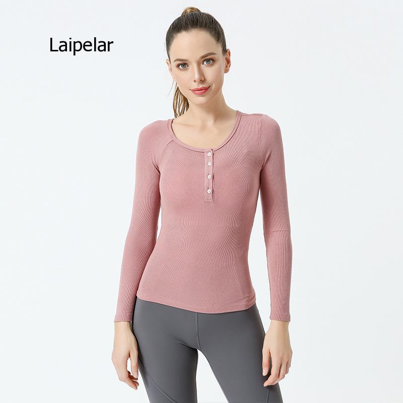 Новинка 2021, осенне-зимние женские хлопковые футболки с длинным рукавом, модные высококачественные приталенные футболки для дам