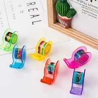 45 pieces of candy bucket with seat mini cartoon tape tape stationery caution printing tape paper korean and diy f0s9