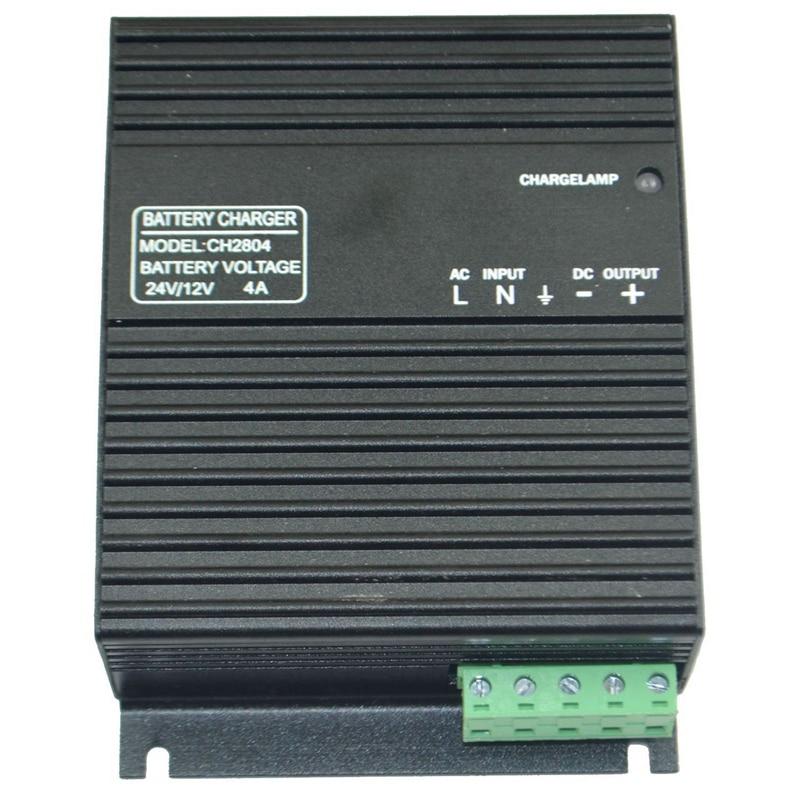 Grupo electrógeno flotador cargador 4A Arranque automático cargador de batería CH2804 12V24V