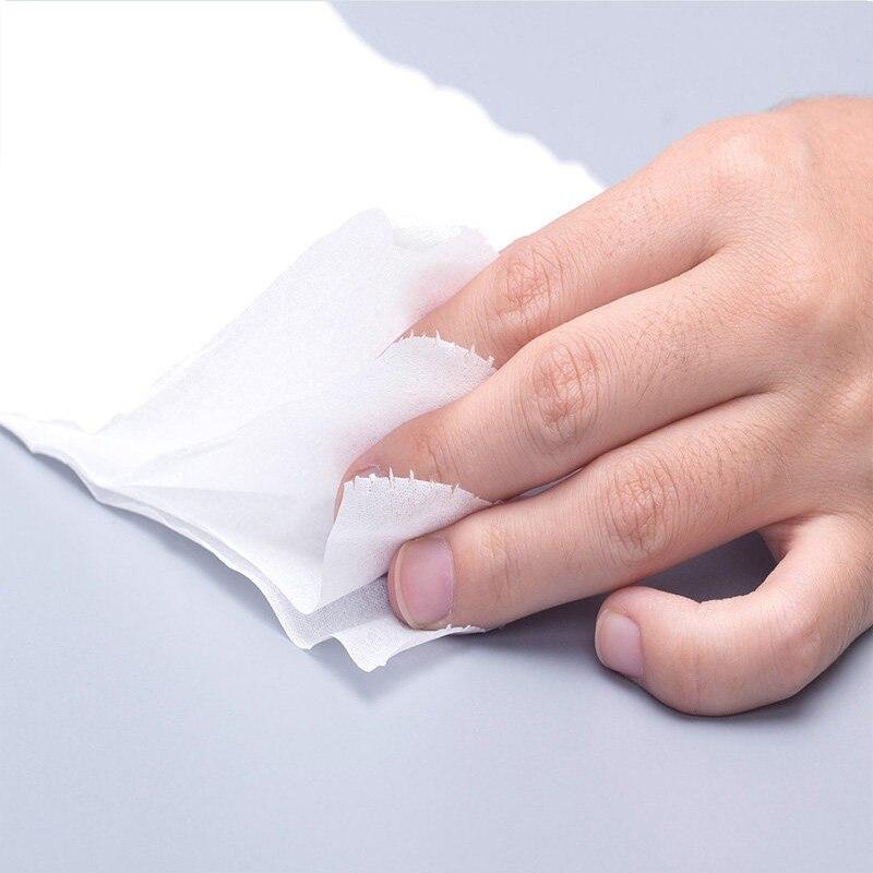 12 рулонов туалетной бумаги оптом рулон банной ткани Ванная комната белый мягкий 4 слоя для дома K888