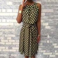 halter asymmetrical ruffles tank polka dot dress women sexy off shoulder summer dress 2021 bohemian beach dress ladies sundress