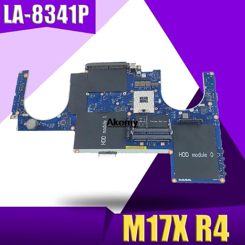 LA-8341P Laptop motherboard For DELL Alienware M17X R4 original mainboard 100%Test