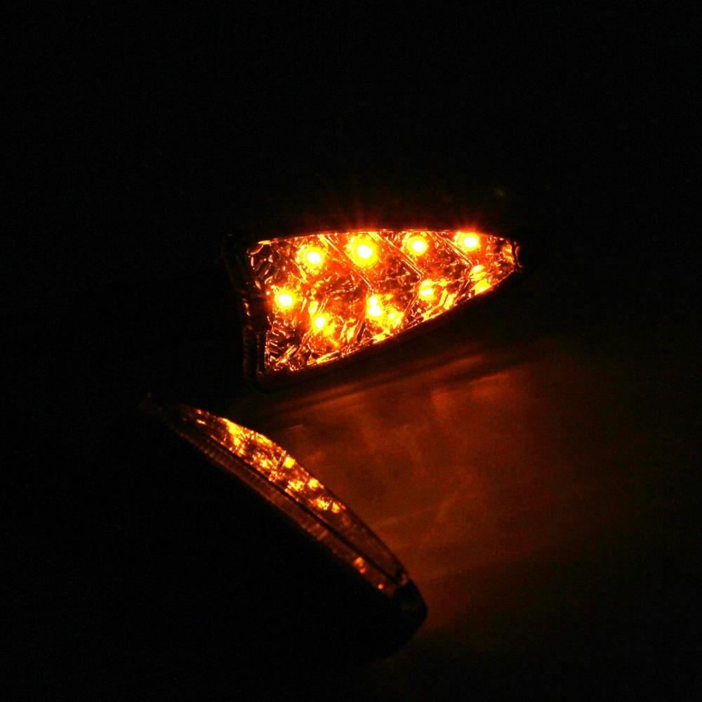 LED Turn Signal Light Indicator For Aprilia RSV 4R Caponord 1200 RS4 125 SXV550 SR Motard 125 Motocycle Front/Rear Lamp