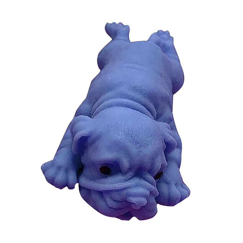 Creative Simulation Puppy Decompression Stress Reliever Squishy Toy Vent Male And Female Dog Toy For Children Gifts игрушки enlarge