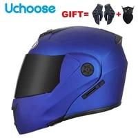 2021 unisex racing motobiker flip up helmets modular dual lens motorcycle helmet full face safe helmet men adult women