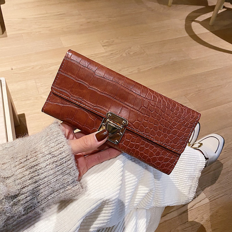 Wallets for Women Luxury Designer Fashion Coin Purses Card Holder Wallets Female Clutch Money Bags PU Leather Smart Wallet 2021