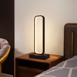 Nordic Decor Light For Bedroom Desk Table Lamp Lighting with Home Kitchen Living Room Black Chandeliers Fixtures SEDELUZ