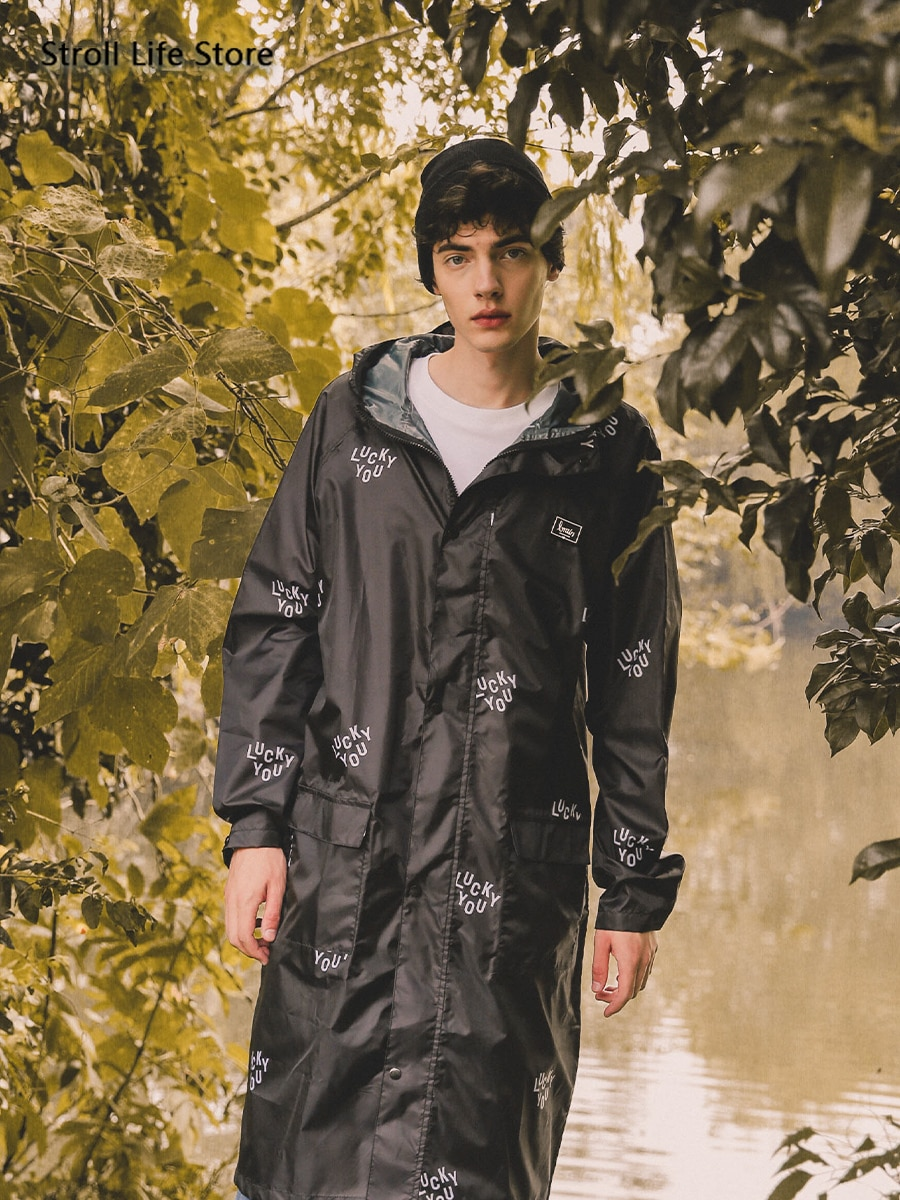 Women's Jacket Raincoat Adult Long Body Fashion Red Waterproof Rain Coat Clothing Poncho Waterproof Suit Capa De Chuva Gift enlarge
