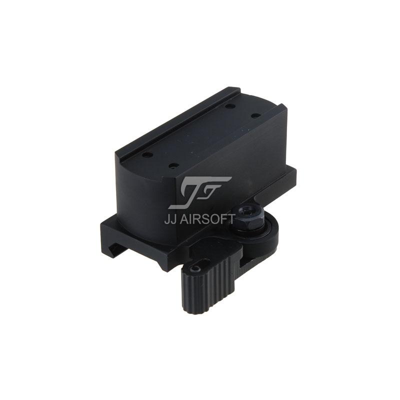 TARGET QD Riser Mount для JJ Airsoft T1/T-1/T2/T-2/TARGET TR02 Red Dot (Black/Tan) LT660, LT660HK, LT661