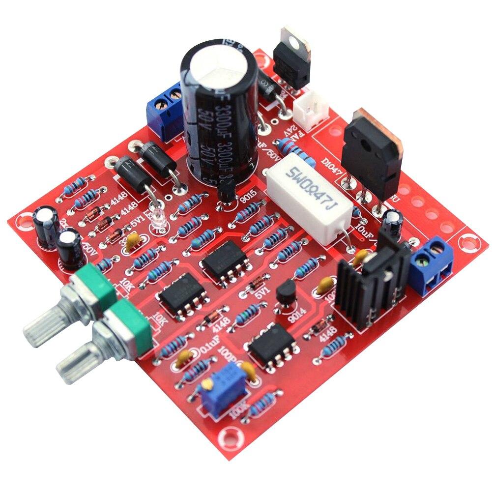 0-30V 2mA-3A módulo duradero protección de corriente ajustable laboratorio PCB fuente de alimentación accesorios regulados CC herramienta pantalla LED DIY