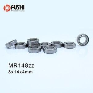 MR148ZZ ABEC-1 (50PCS) 8X14X4mm Miniature Ball Bearings MR148ZZ