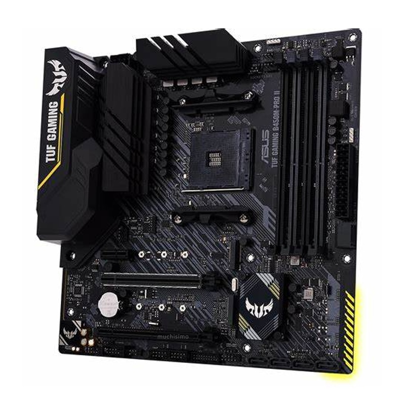AM4 Asus TUF GAMING B450M-PRO II Motherboard With AMD Ryzen 5 3600 Motherboard Combo Gaming DDR4 AMD B450 Gaming Placa-mãe Kit