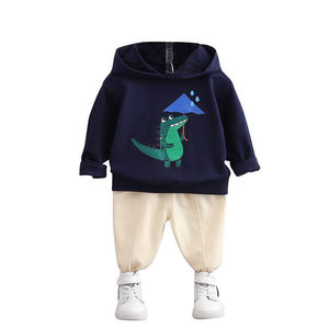 New Spring Autumn Baby Boys Girls Clothes Suit Children Cotton Hoodies Pants 2 Piece Set Toddler Casual Costume Kids Tracksuits