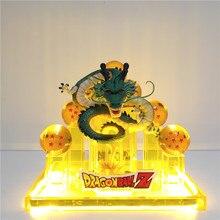 Dragon Ball Lampara Dragon Ball Z Shenron Goku Figurine LED Lihgting Decorative Night Light Crystal Ball DBZ Goku Shenglong Toy