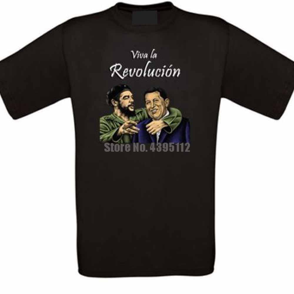 Camiseta Unisex con Vaporwave de la revolución de Cuba y de la revolución de Guevara, Camiseta lisa de Polonia, camiseta retro Uxldnw