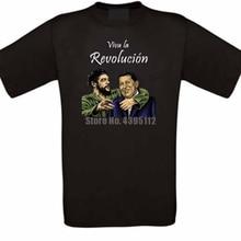 Hugo Chavez Guevara Revolution Cuba Venezuela Unisex Vaporwave T-Shirts Plain Shirts Poland T Shirts Retro Tshirt  Uxldnw