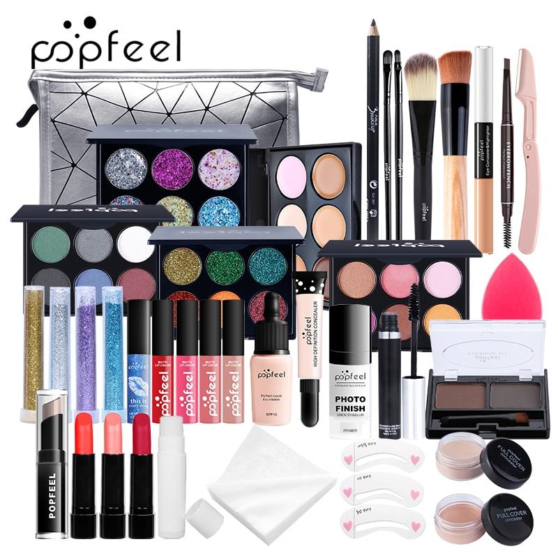 POPFEEL ALL IN ONE Full Professional Cosmetics Makeup kit