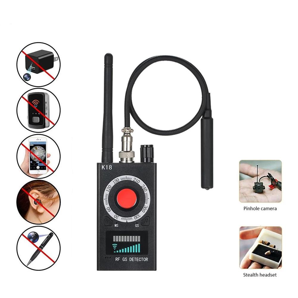 K18 Anti Candid Detector Camera Bug Mini Gadget Wiretapping Bug Jamming Machine Traffic Police Camera Jammer Signal Blocker C308