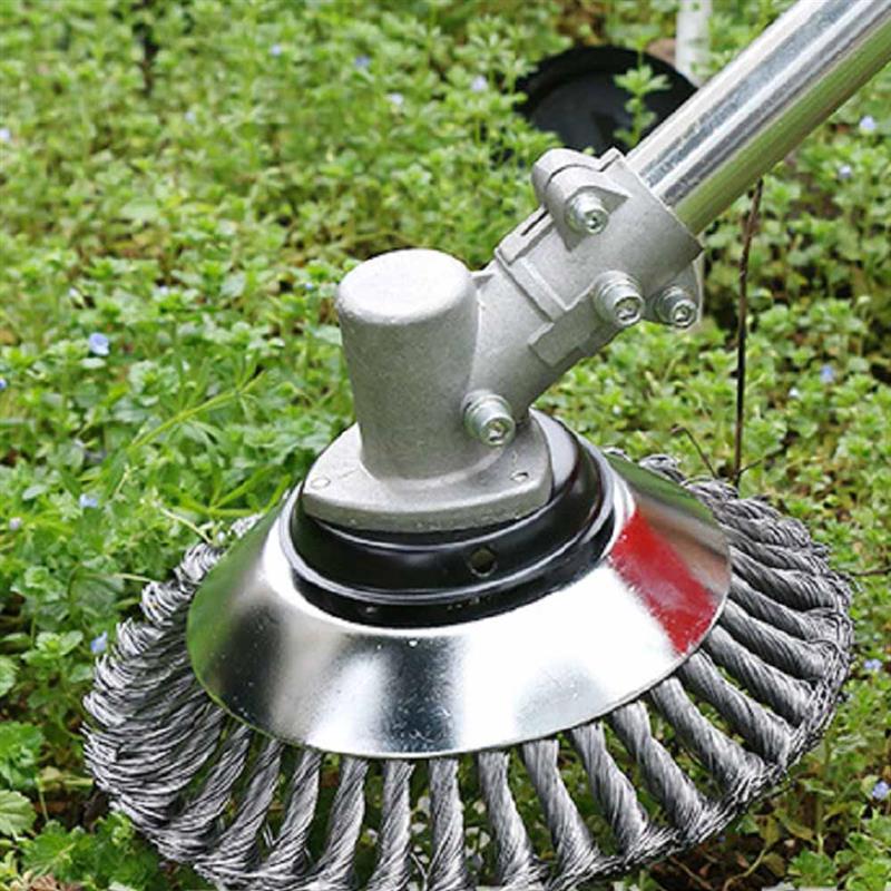 Головка для газонокосилки, стальная проволока, инструменты для обрезки травы, с закругленными краями, для садового газонокосилки