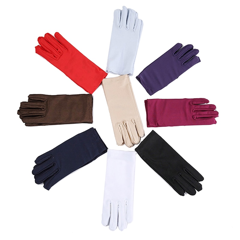 AliExpress - Cheap Mens Solid White Performance Gloves Short Waitor Gloves White Black Red Gray Beige Men Manner Ceremonial Gloves For Male