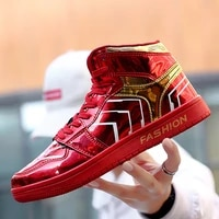 2021 mens brand red mirrors casual shoes fashion couple high top sneakers men breathable mens hip hop shoes zapatillas hombre