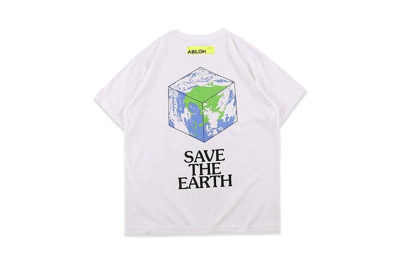 Think Outside The Box 2020 New T-Shirt Men Women Couples Virgil Abloh Oversized Tees HipHop T-Shirt Men